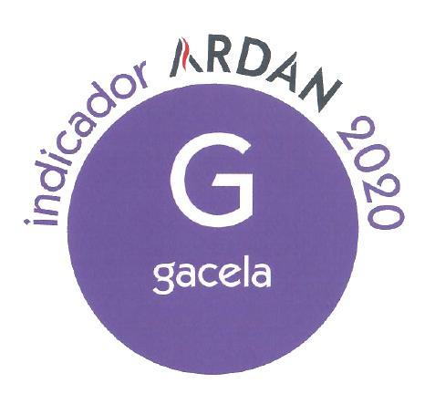 Indicador Ardán 2020 - Gacela
